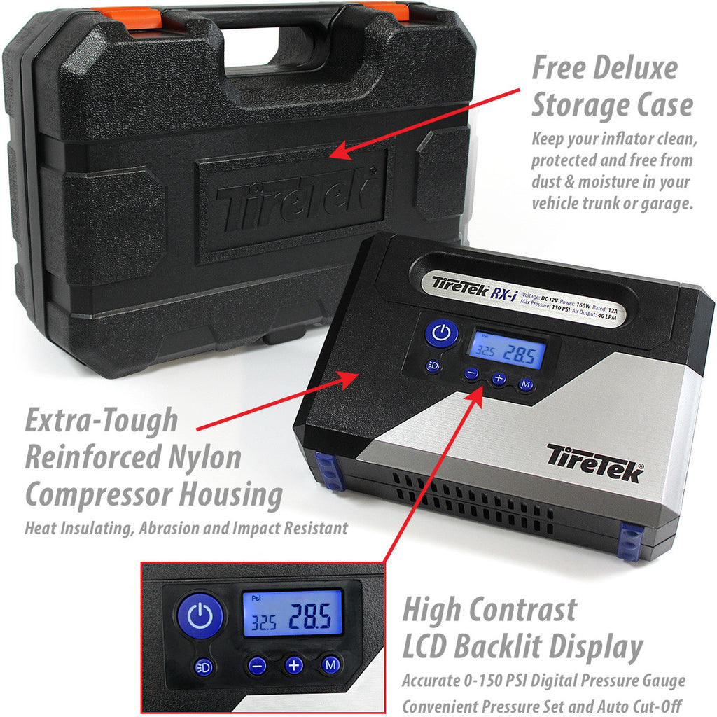 RX-i Digital Tire Inflator Pump - 160w product image