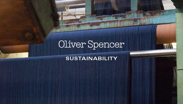 Striding Towards Sustainability with Organic Cotton - Oliver Spencer Spring/Summer '19