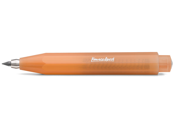 Kaweco Frosted Sport Clutch Pencil 3.2mm - Soft Mandarine - Burrows and Hare