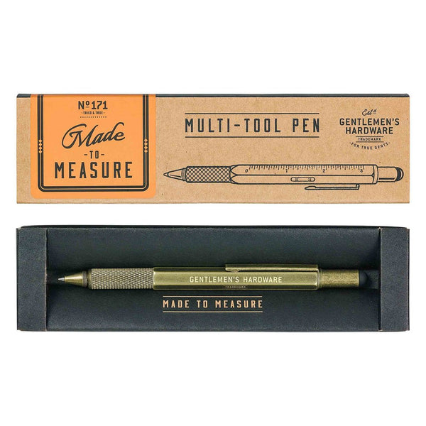 Gentlemen's Hardware Multi Tool Pen - Burrows and Hare