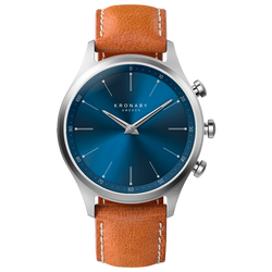 Kronaby Sekel 41mm - Tan Leather Strap - Burrows and Hare