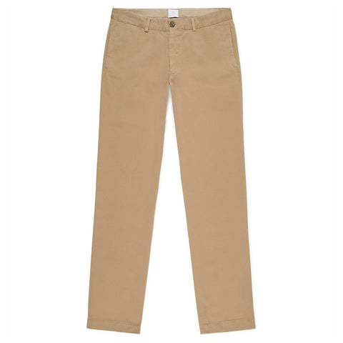 Sunspel Stone 5 Pocket Garment-Dyed Cotton Twill Chinos-Chino-Sunspel-Burrows and Hare
