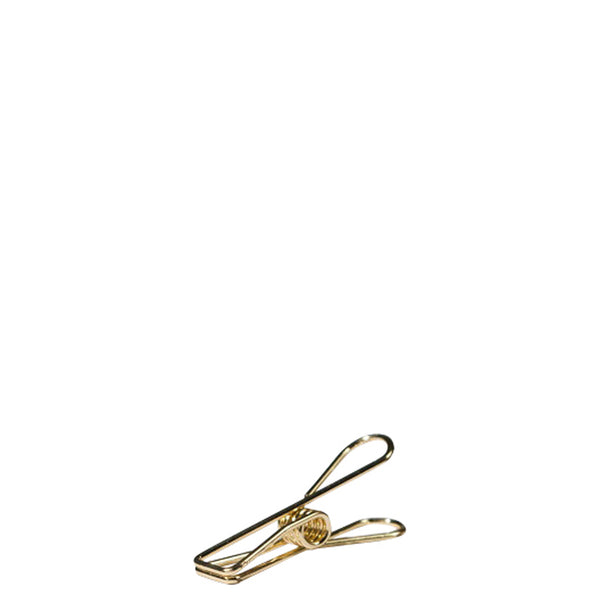 Tools to Liveby Gold Wire Clips (Set of 12) - Burrows and Hare