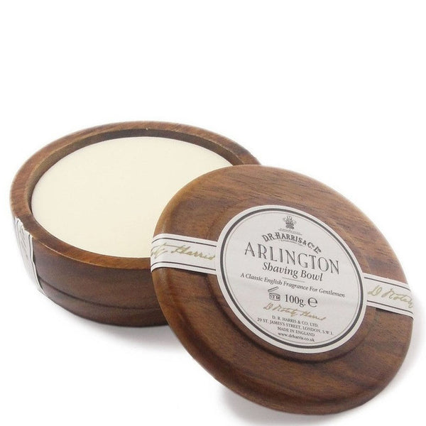 D.R. Harris & Co. Shaving Soap with Mahogany Bowl - Arlington - Burrows and Hare