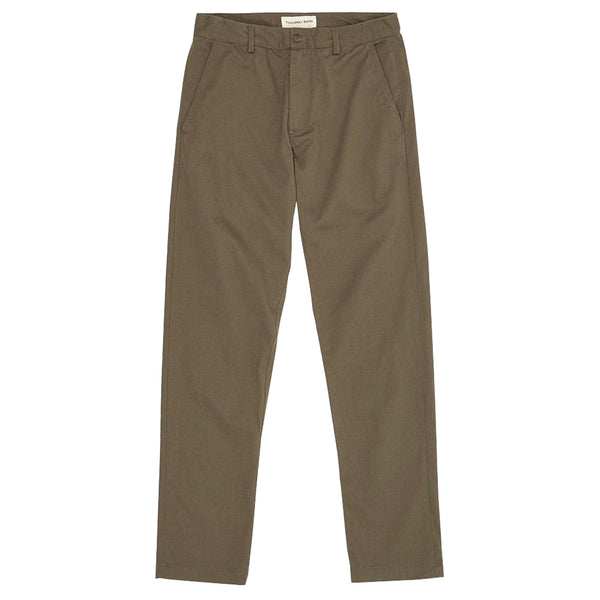 Universal Works Aston Pant - Olive - Burrows and Hare