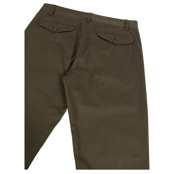 Universal Works Aston Pant Olive - Burrows and Hare