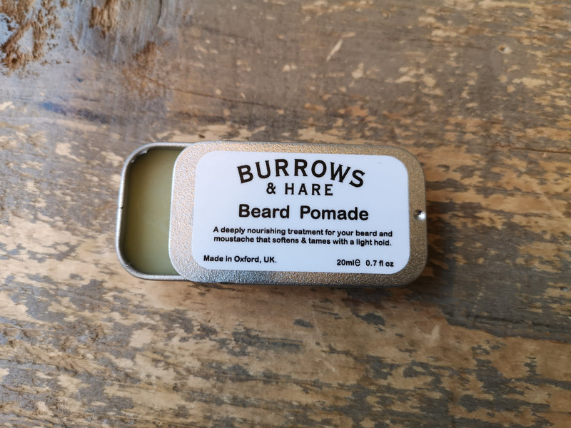 Burrows and Hare Beard Pomade - Burrows and Hare