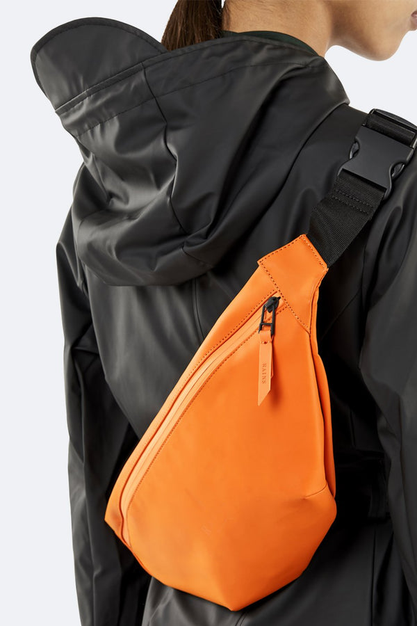 Rains Bum Bag - Fire Orange - Burrows and Hare