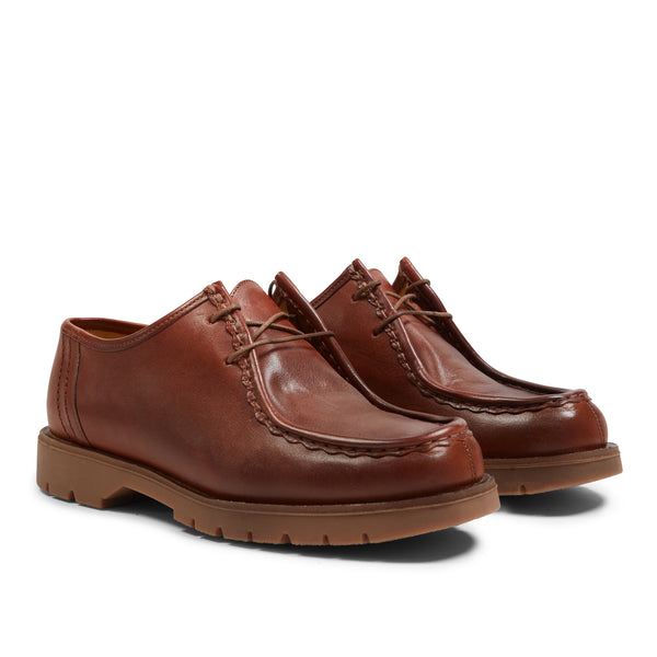 Kleman Padror Shoes - Brique - Burrows and Hare