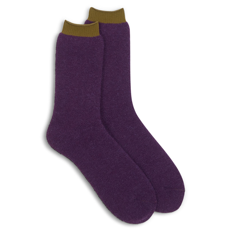 Anonymous Ism Boot Sock - Purple - Burrows and Hare
