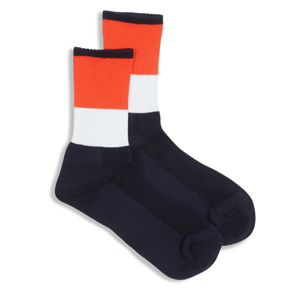 Anonymous Ism Comfort Socks - Navy - Burrows and Hare