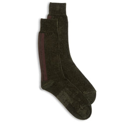Anonymous Ism Crew Sock - Dark Green - Burrows and Hare