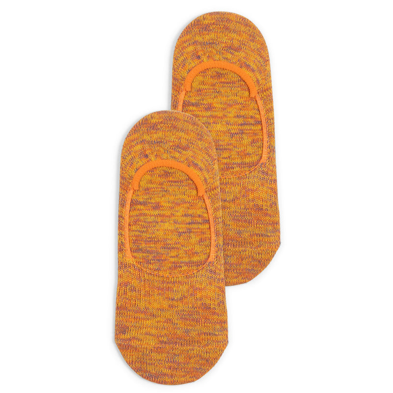 Anonymous Ism Sneaker Sock - Orange Mix - Burrows and Hare