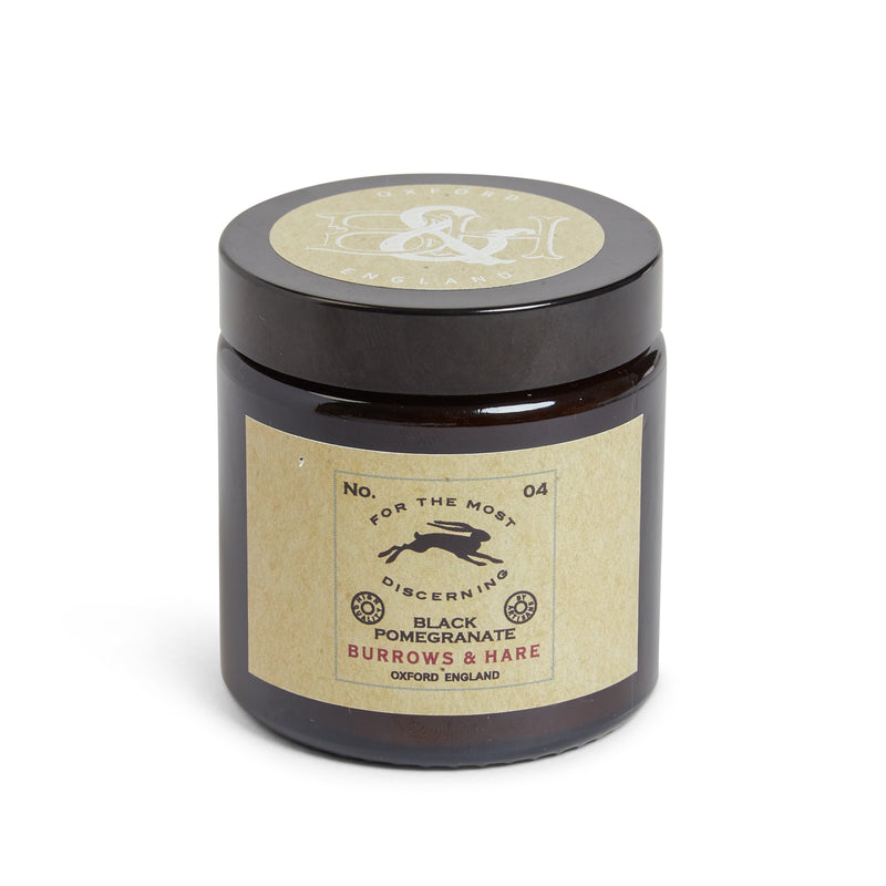 Burrows and Hare Candle No. 04 - Black Pomegranate - Burrows and Hare