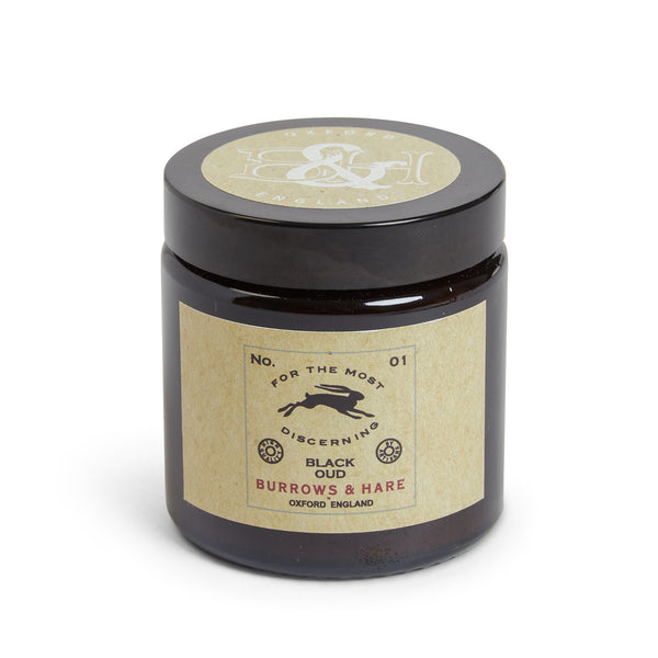 Burrows and Hare Candle No. 01 - Black Oud - Burrows and Hare