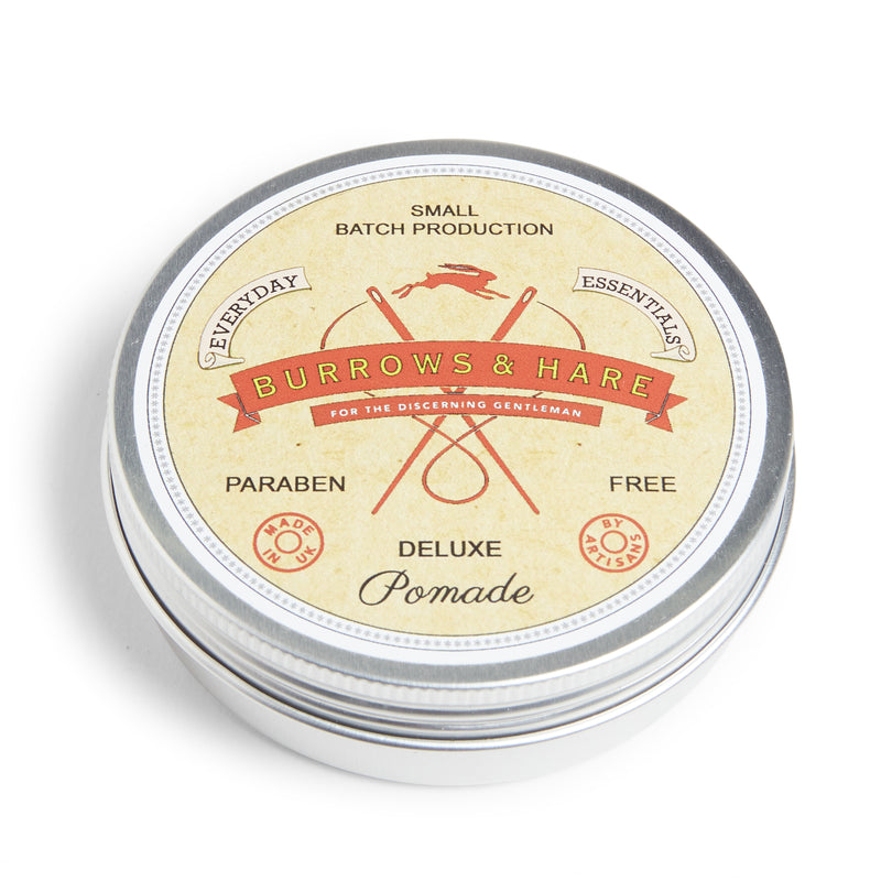 Burrows & Hare Deluxe Pomade - Burrows and Hare