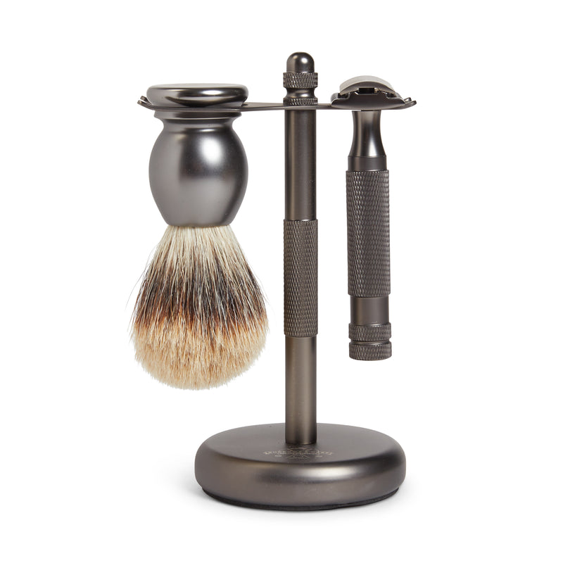 Burrows and Hare Shaving Stand Set - Matte - Burrows and Hare