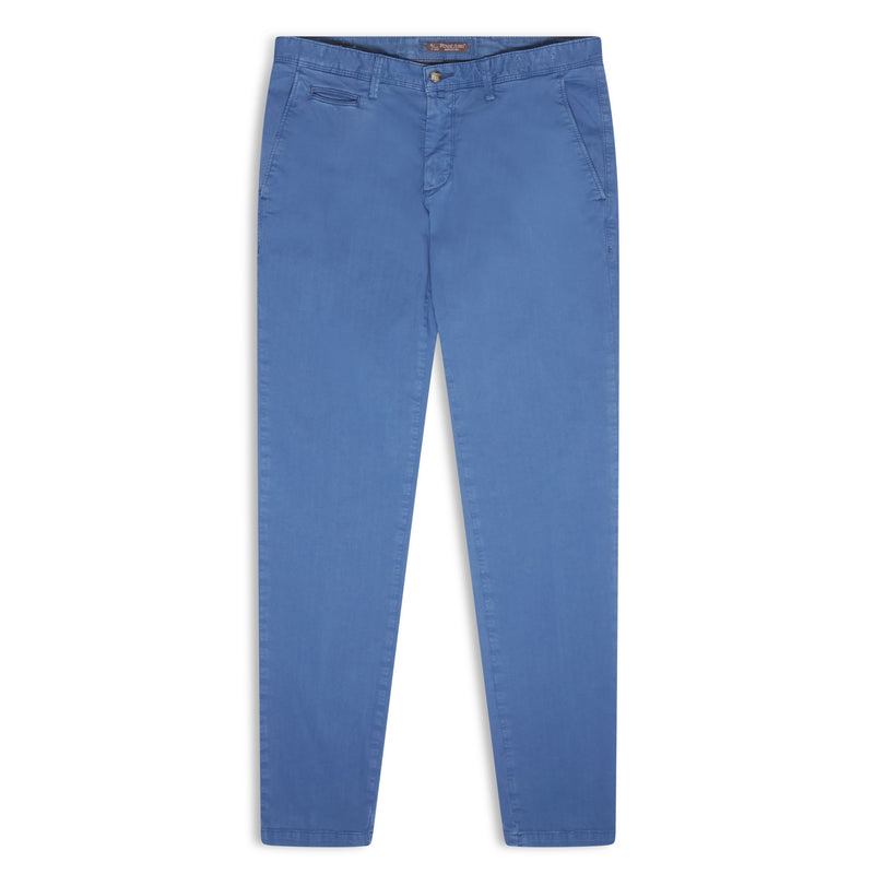 Burrows & Hare Chino - Stonewash Blue - Burrows and Hare