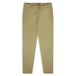 Burrows & Hare Chino - Khaki Green - Burrows and Hare