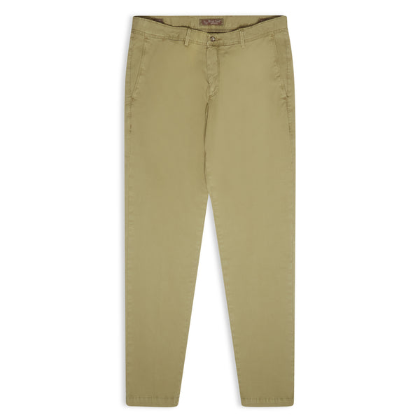 Burrows and Hare Chino - Khaki Green - Burrows and Hare