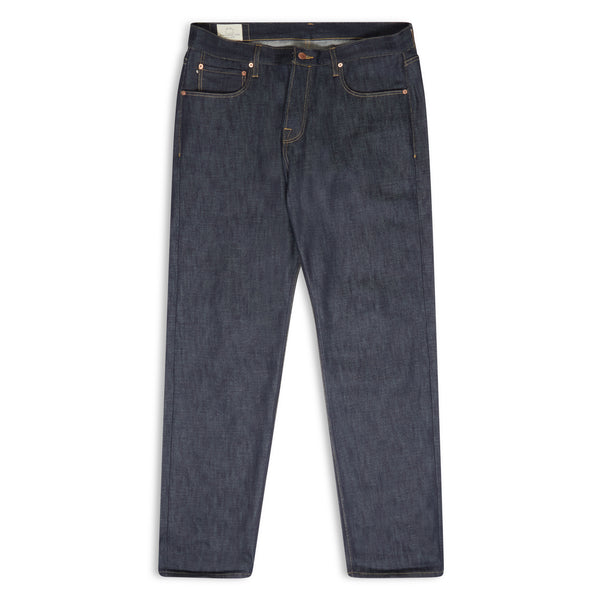 Blackhorse Lane - NW1 RELAXED STRAIGHT INDIGO 14OZ TURKISH RAW SELVEDGE MENS JEANS - Burrows and Hare