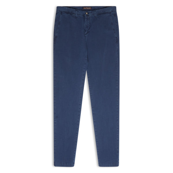 Burrows and Hare Chino - Denim Wash - Burrows and Hare