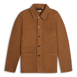 Vetra Moleskin Jacket - Camel - Burrows and Hare