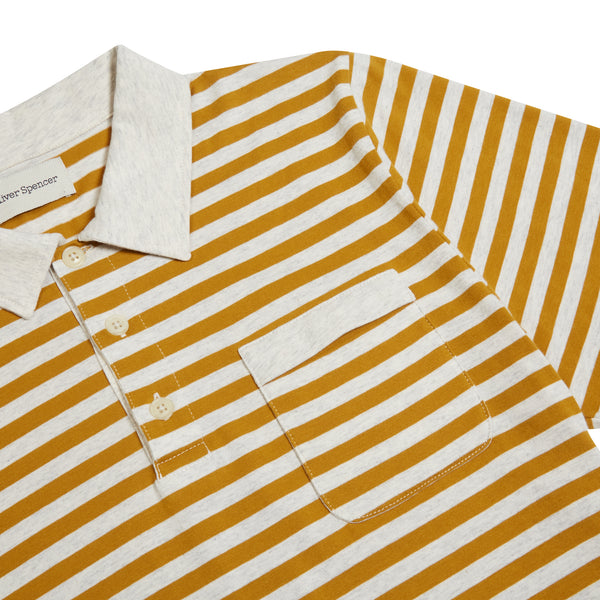 Oliver Spencer Dunmore Polo - Mustard