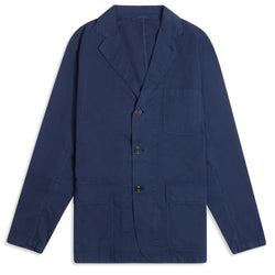 Hartford Jag Col 112 Light Weight Blazer - Navy - Burrows and Hare