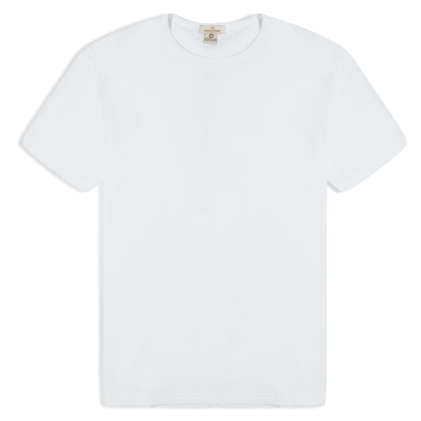 Burrows & Hare T-Shirt - White - Burrows and Hare