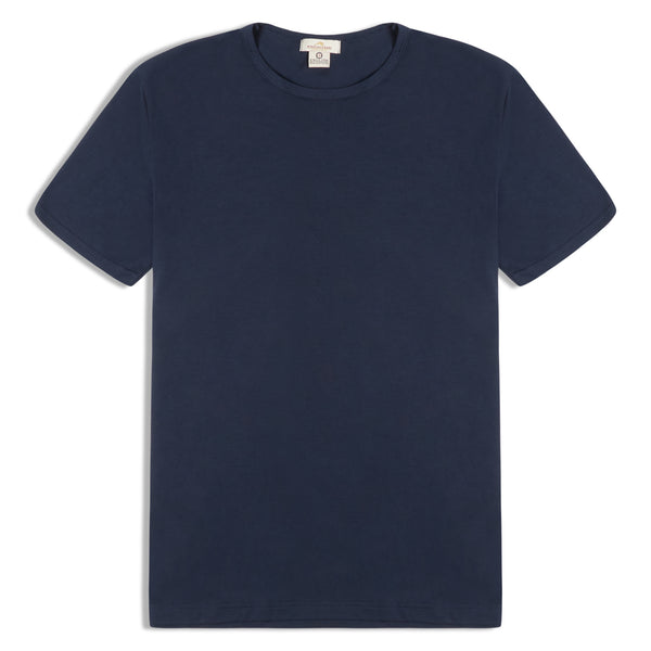 Burrows and Hare T-Shirt - Navy - Burrows and Hare