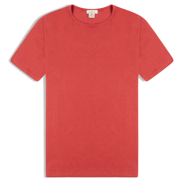 Burrows & Hare T-Shirt - Red - Burrows and Hare