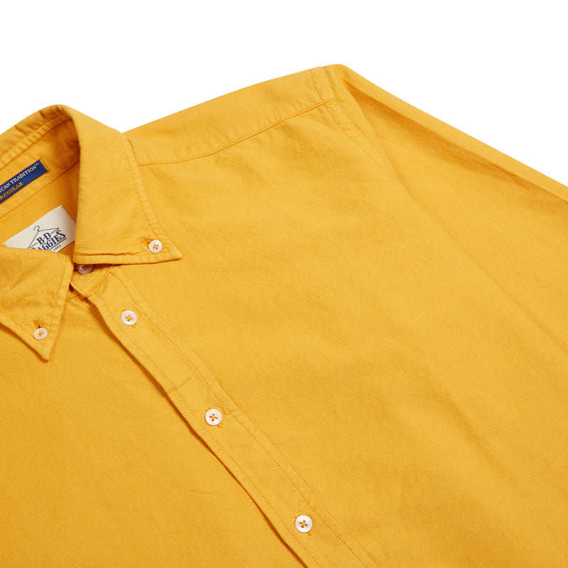 B.D. Baggies Bradford Shirt - Mustard - Burrows and Hare