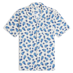 Hartford Slam Short Sleeve Shirt - Pineapple - Burrows and Hare