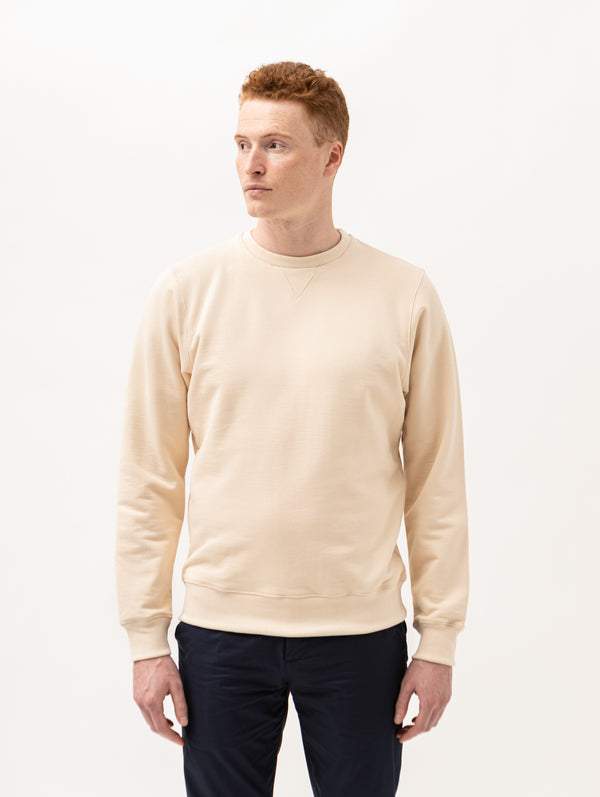 Burrows & Hare Sweatshirt - Ecru - Burrows and Hare