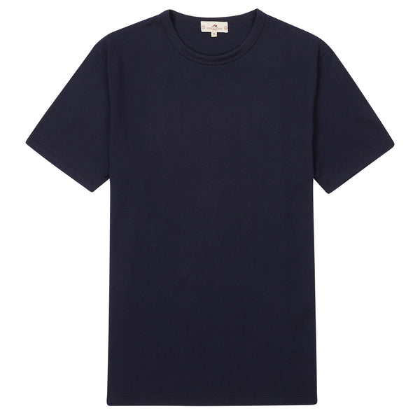 Burrows & Hare Regular T-Shirt - Navy - Burrows and Hare