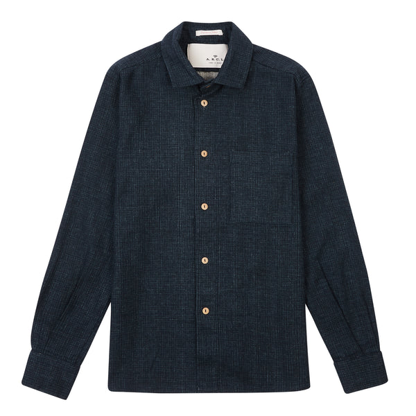 A.B.C.L. Cali Shirt - Indigo - Burrows and Hare