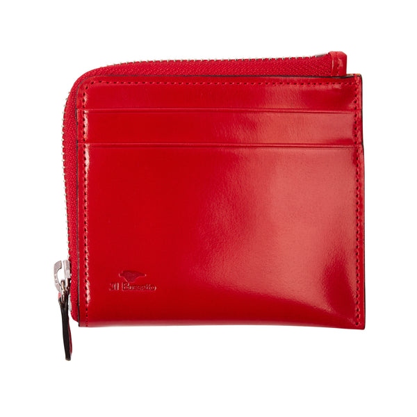 Il Bussetto Zip Around Wallet - Red - Burrows and Hare