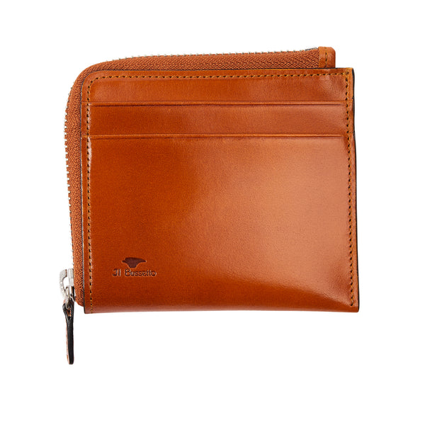 Il Bussetto Zip Around Wallet - Tan - Burrows and Hare