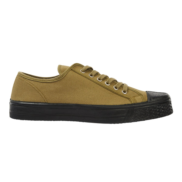 US Rubber Military Low Top - Green - Burrows and Hare