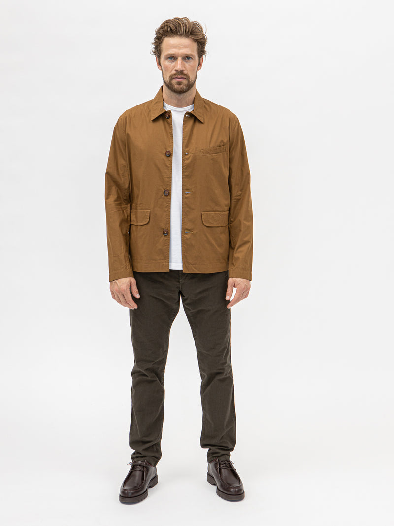 Universal Works Poplin Warmus Jacket - Khaki