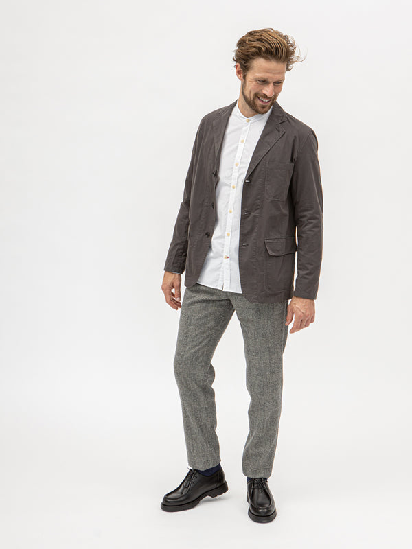 Hartford Jag Col 105 Light Weight Blazer - Charcoal - Burrows and Hare