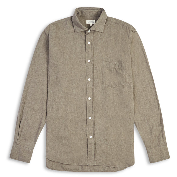 Hartford Paul Shirt - Grey - Burrows and Hare