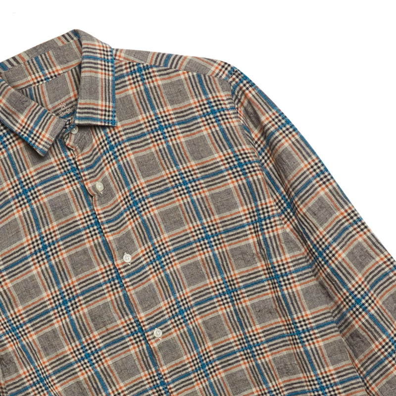 A.B.C.L. Liberty Shirt - Boucle Check - Burrows and Hare