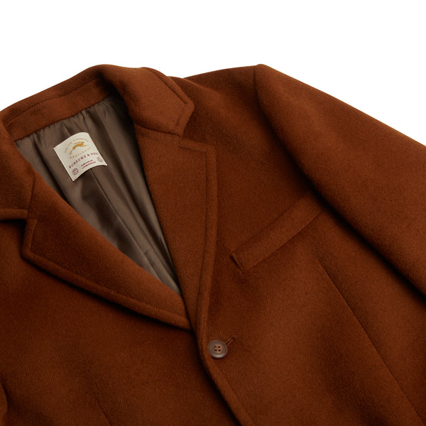 Burrows & Hare Churchill Coat - Camel - Burrows and Hare