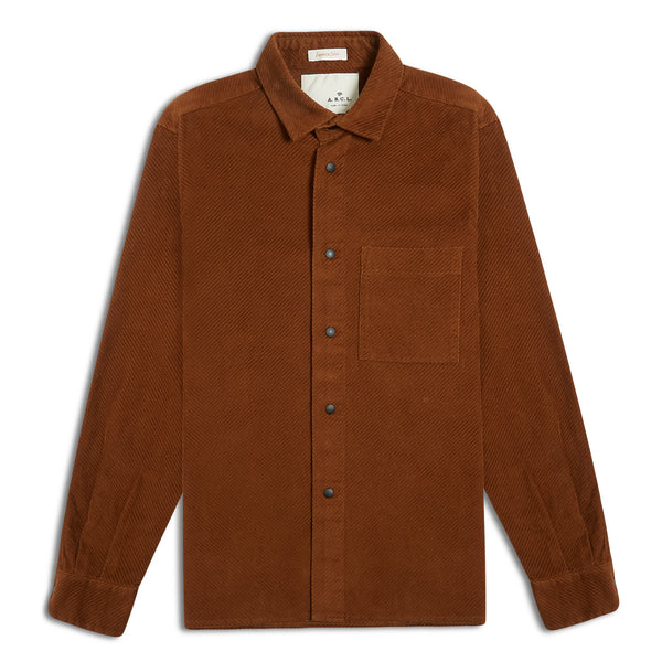 A.B.C.L. Cali Shirt Diagonal Corduroy - Burrows and Hare