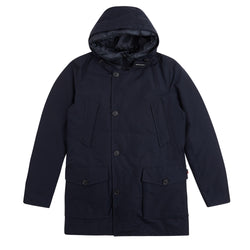 Woolrich 3 in 1 Eco Friendly Parka - Melton Blue - Burrows and Hare