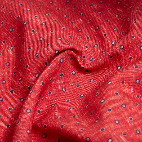 Rosi Collection Pocket Hanky - Polka Dot Red - Burrows and Hare