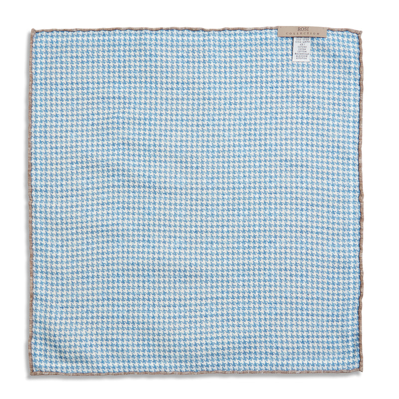 Rosi Collection Pocket Hanky - Multi Print Grey