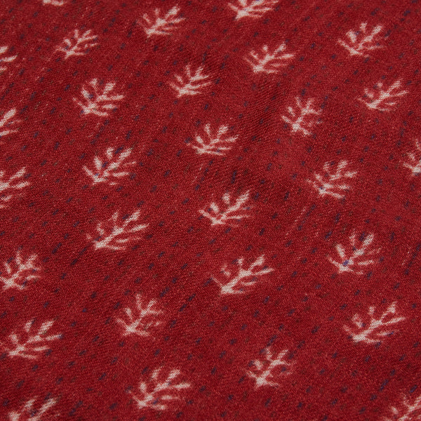 Hartford Scarf - Red - Burrows and Hare